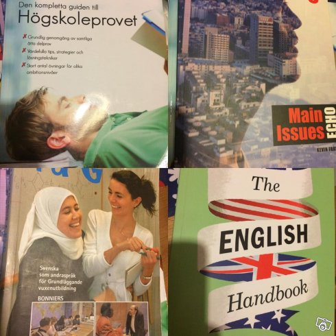På G,högskoleprov,english handbook,main echo