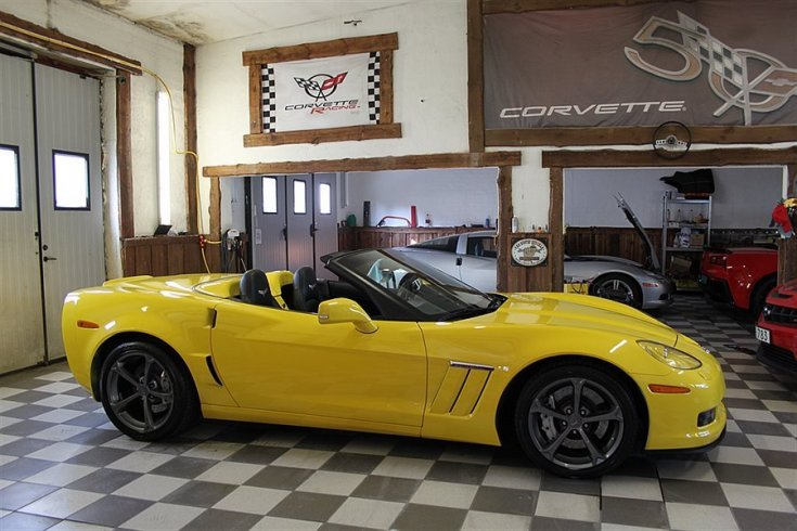 Chevrolet Corvette C6 GRAND SPORT CAB EU -10