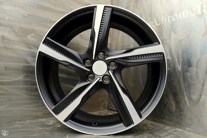 "22"" ixion II volvo r-design black/polish xc60"