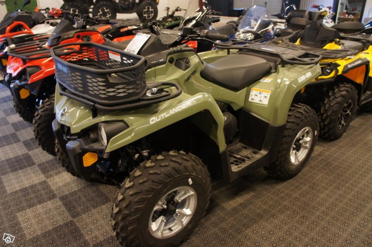 Can-Am Outlander 570 L Dps 2016 Ny