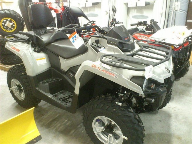 Can-Am Outlander 500 L DPS MAX Nyhet -15
