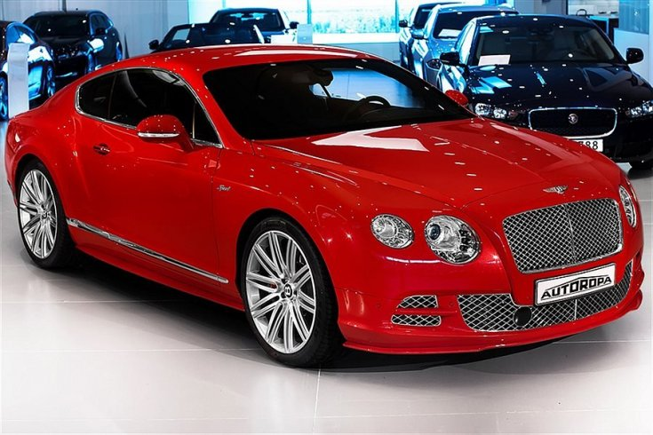 Bentley Continental GT W12 Speed -15