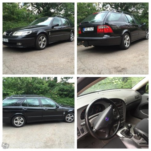 Saab 9-5 2,3t Vector SC | BSR modifierad|Byte -02