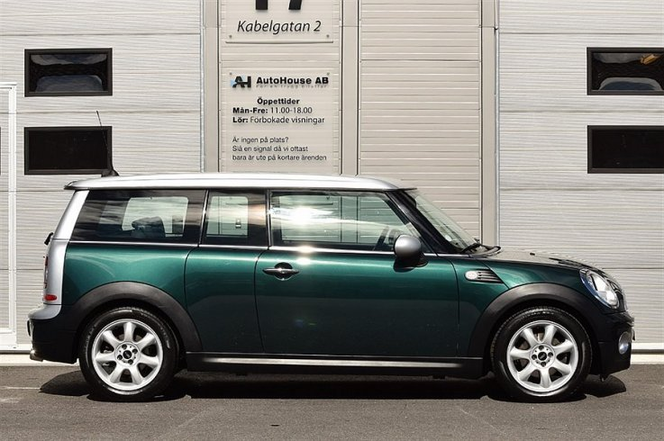 Mini Clubman D Chili Dragkrok Sv-Såld -08