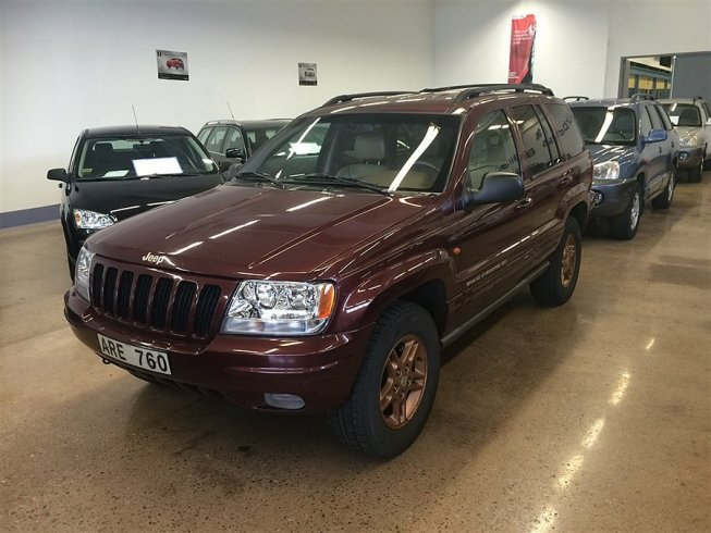 Jeep Grand Cherokee 4.7 (223hk) Awd /Auto -99