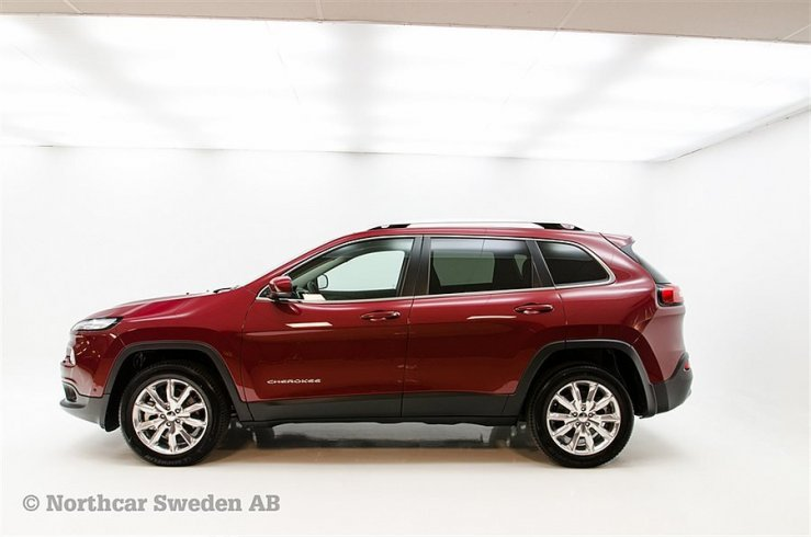 Jeep Cherokee Limited 2,0 200HK 4WD -16