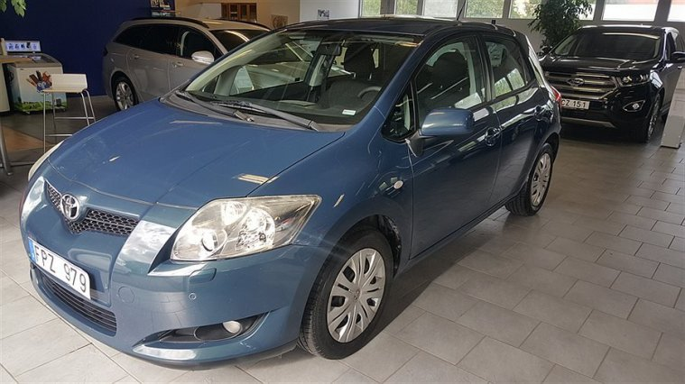 Toyota Auris 1.6 VVT-i Plus 5d MultiMode Auto -07