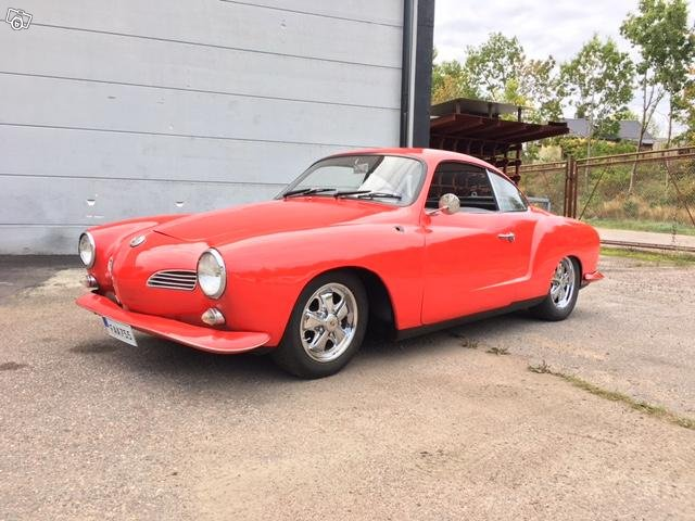 VW Karmann Ghia -64 100000:-