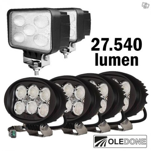SUPERKAMPANJ - Totalt 340W - 27.450 lumen