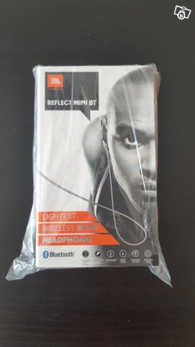 JBL Reflect Mini, Bluethooth in-ear (svarta)