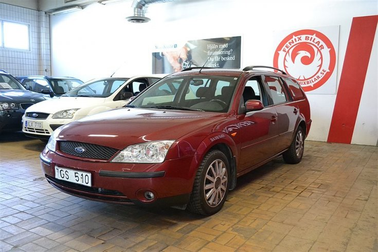 Ford Mondeo BWY Automat Ac Nyservad -02