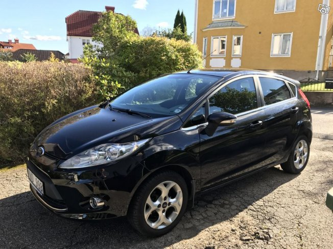 Ford Fiesta 1.25 Titanium Nybes Nyservad -09