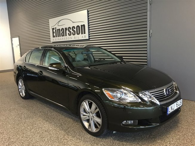 Lexus GS 450h 345hk Executive *Hybrid* -10