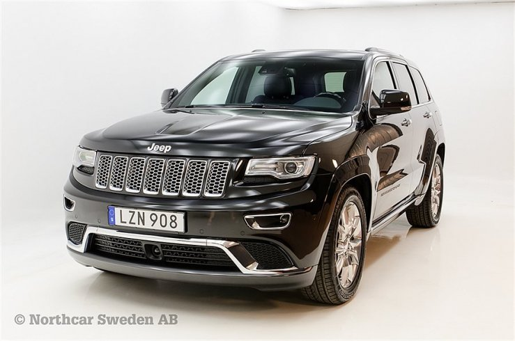 Jeep Grand Cherokee 3.0 CRD 250HK Summit AT8 -15