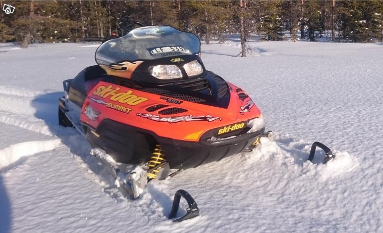 Skidoo summit 550F