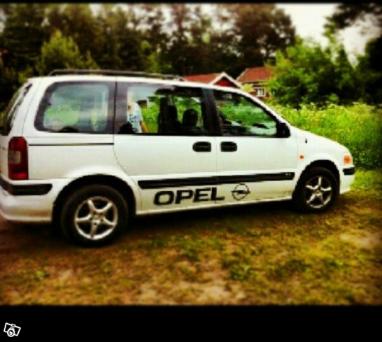 Opel sintra 2.2 nybes -98