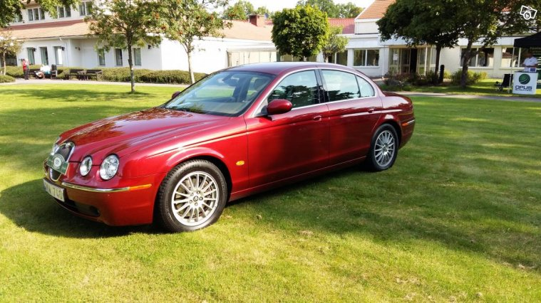 Jaguar S-type 2,7D Executive High Luxury -06