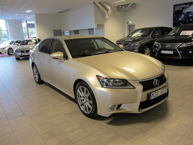 Lexus GS 450h EXECUTIVE 345hk HYBRID -12