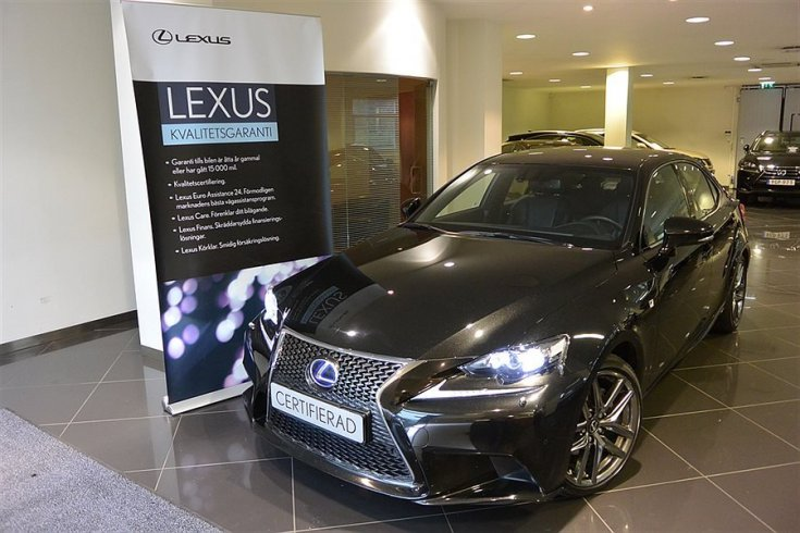 Lexus IS 300h F Sport/Skinn/Navigation -13