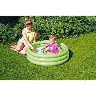 Chad Valley 3 Ring Paddling Pool - 3ft