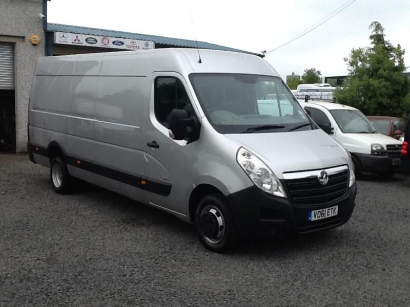 Vauxhall Movano 2.3CDTI ( 125ps 6 speed RWD XLWB 3500 twin axle 2011 61 reg