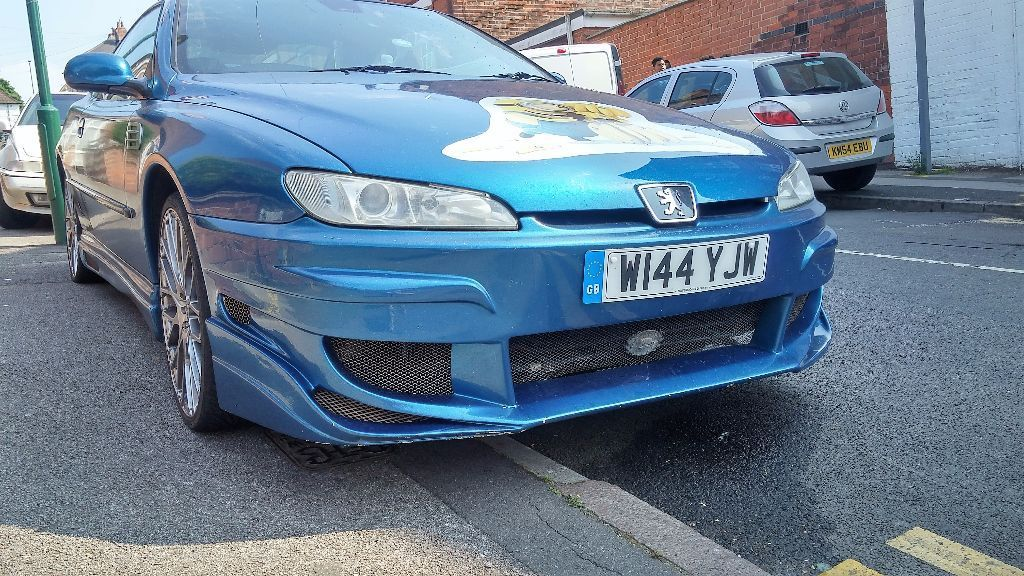 PEUGEOT 406 COUPE BODY KIT 20 INCH ALLOYS CUSTOM CAR
