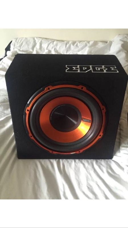 Edge 900W Subwoofer with built in amp - active sub