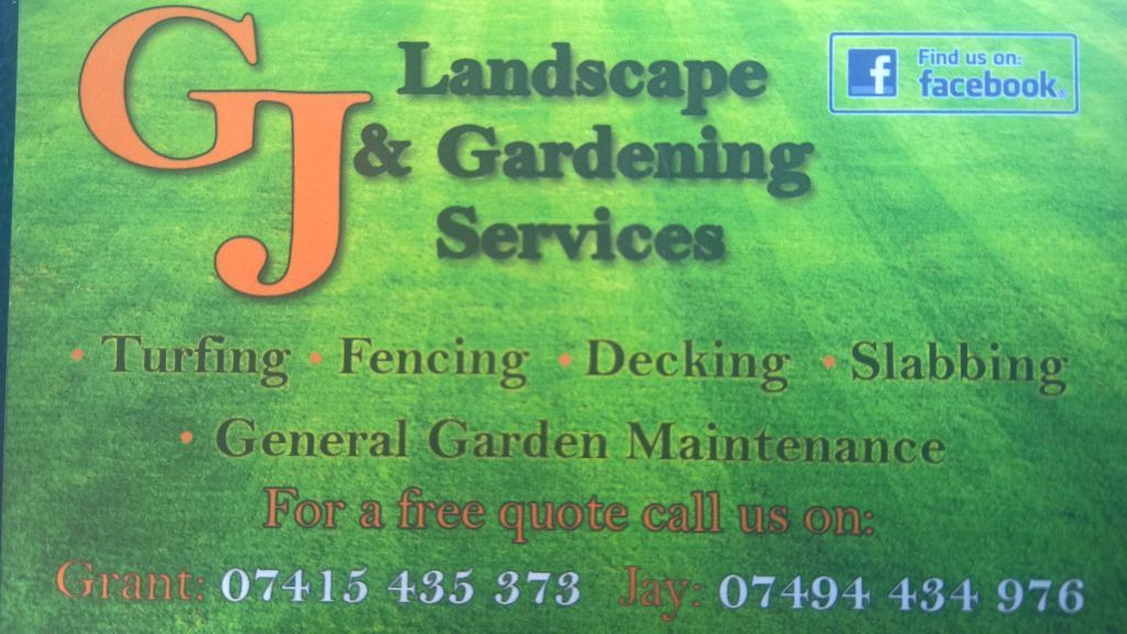 GJ LANDSCAPE AND GARDENING SERVICES