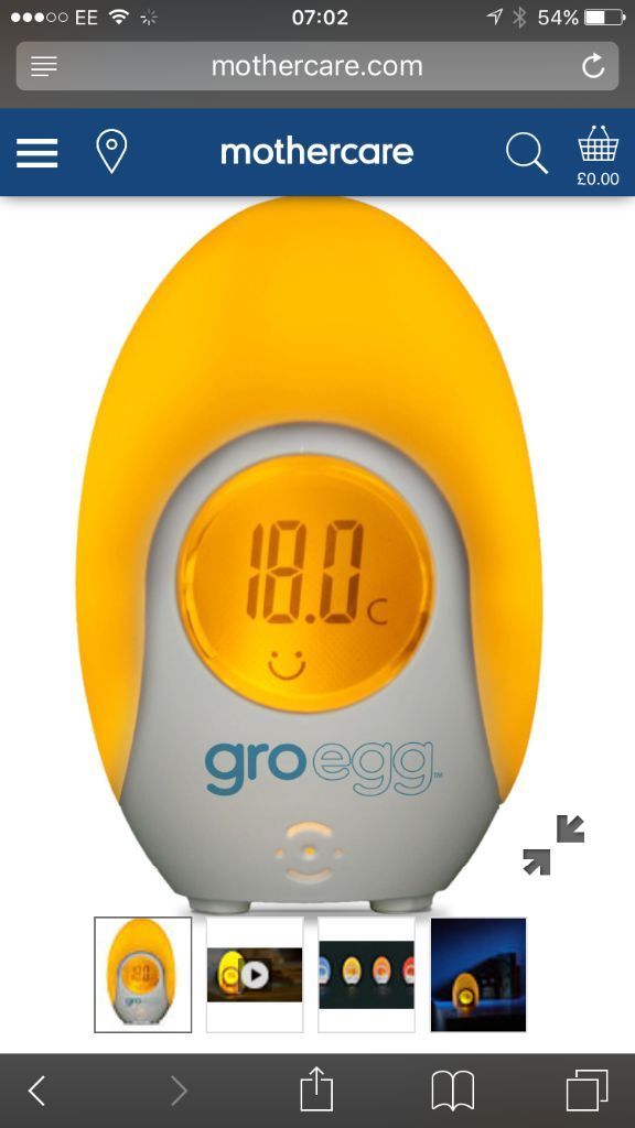 Room thermometer- gro egg