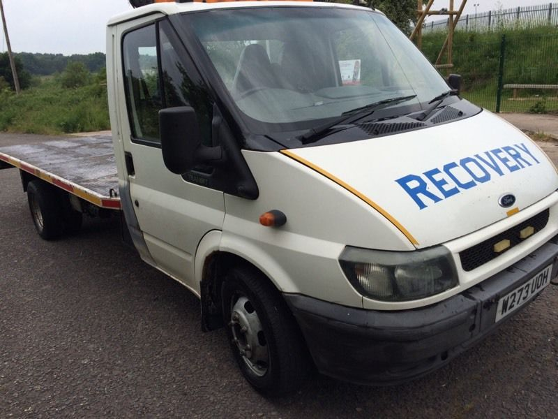 Ford transit recovery truck tilt 2000