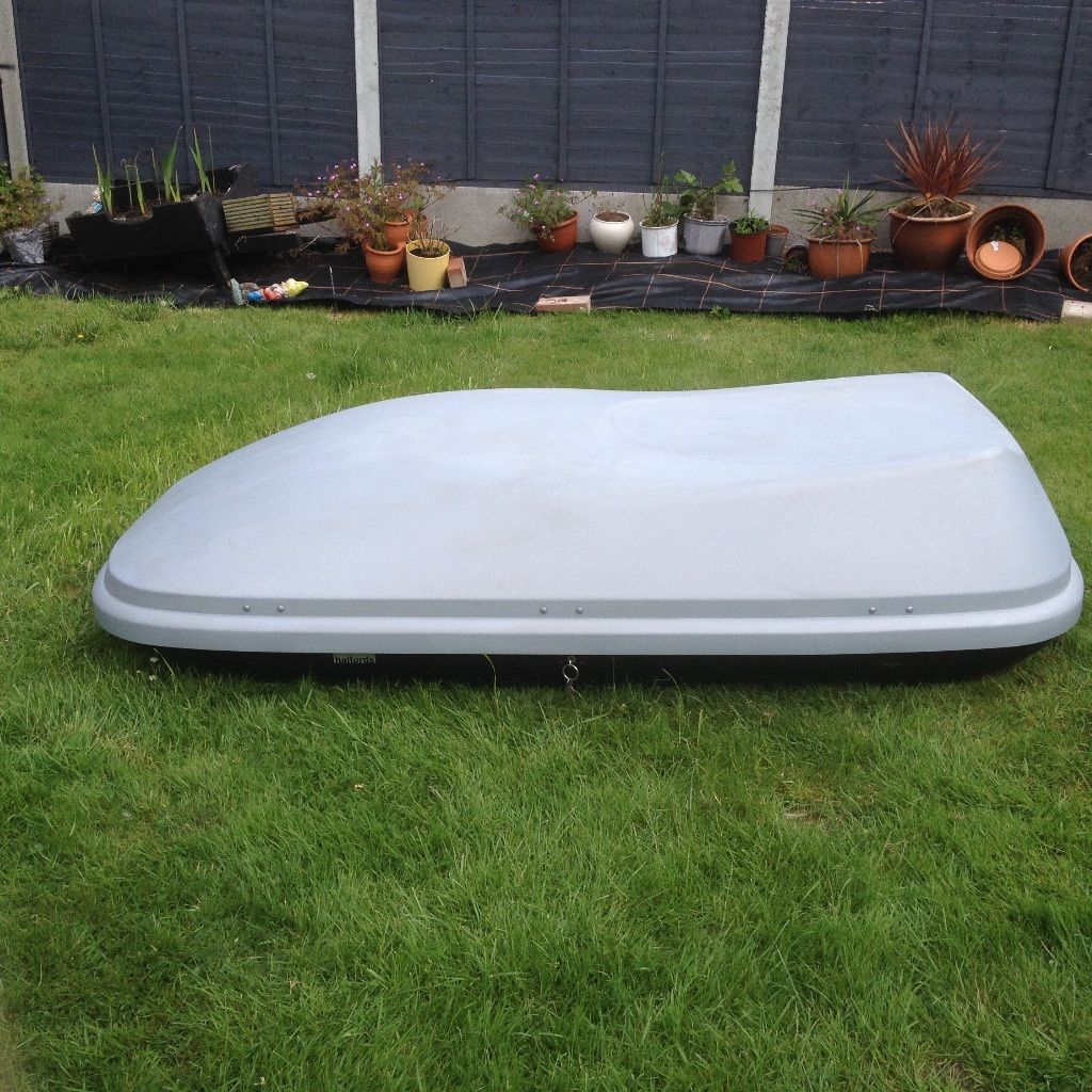 Large car top box for sale