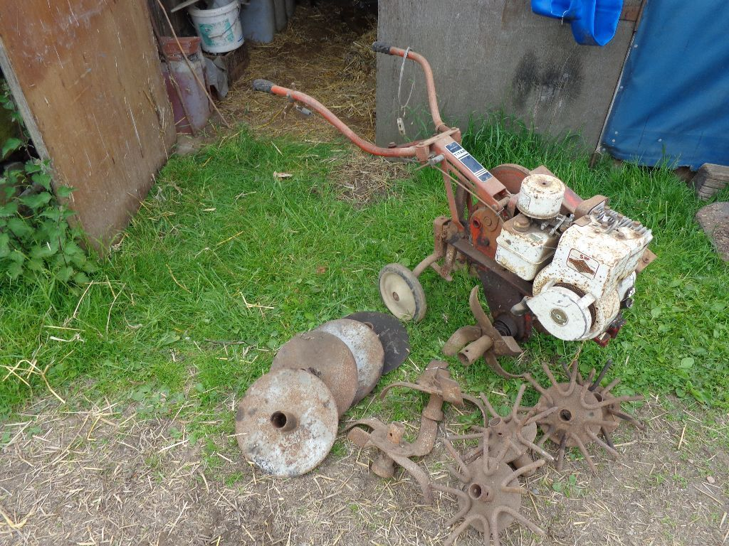 Rotavator Wholsely Titan- merry tiller spares or repairs
