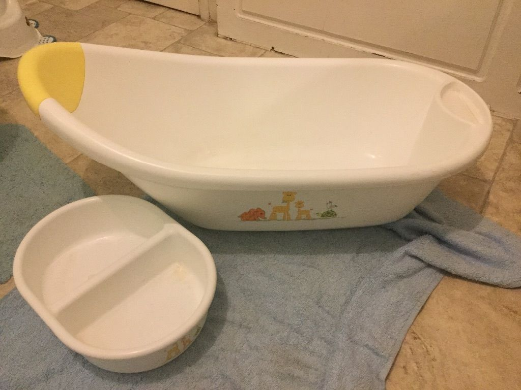 Baby bath & top tail bowl