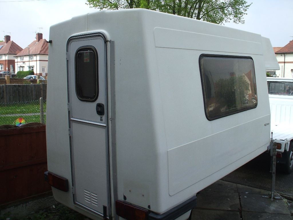 Demountable camper pod (GRP, romahome) to fit mini trucks, Honda, Bedford, Suzuki, Piaggio 2+ berth