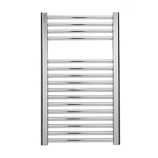 Straight chrome towel warmer