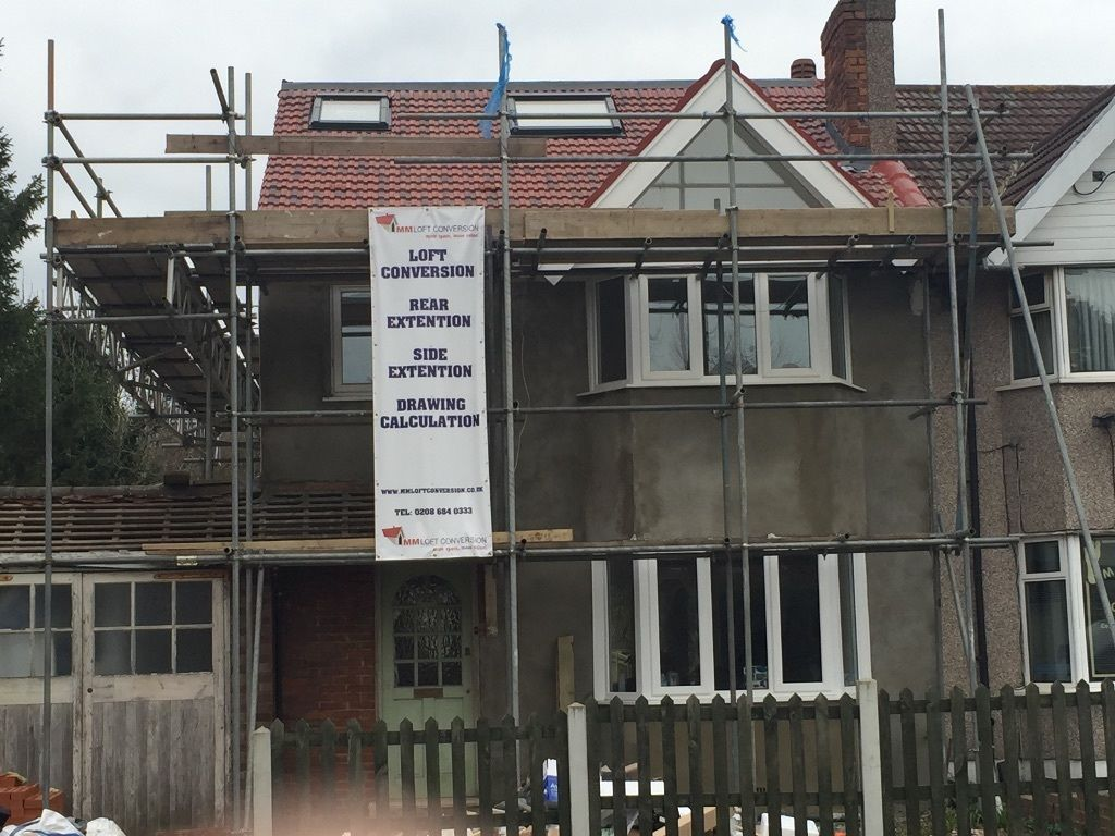 MM loft Conversions Specialists in Croydon Rear & side Extensions Loft cost Planing Drawing