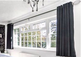 Black Next blackout curtains