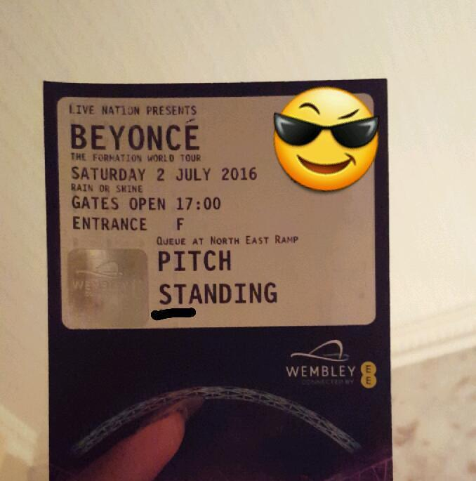 Beyonce formation tickets