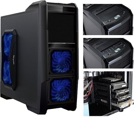 CIT DOMINATOR GAMING CASE