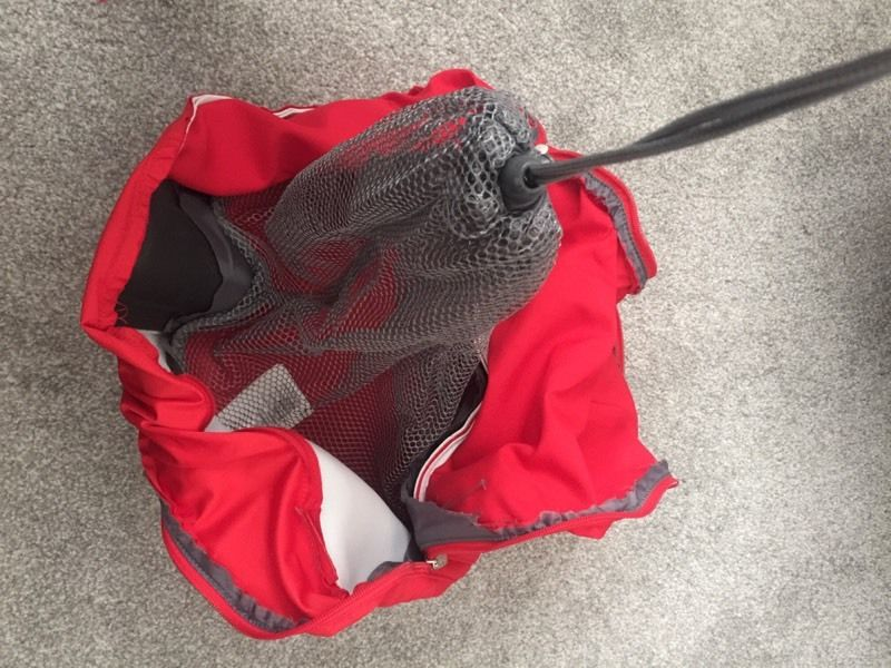 Stokke V3 shopping bag red