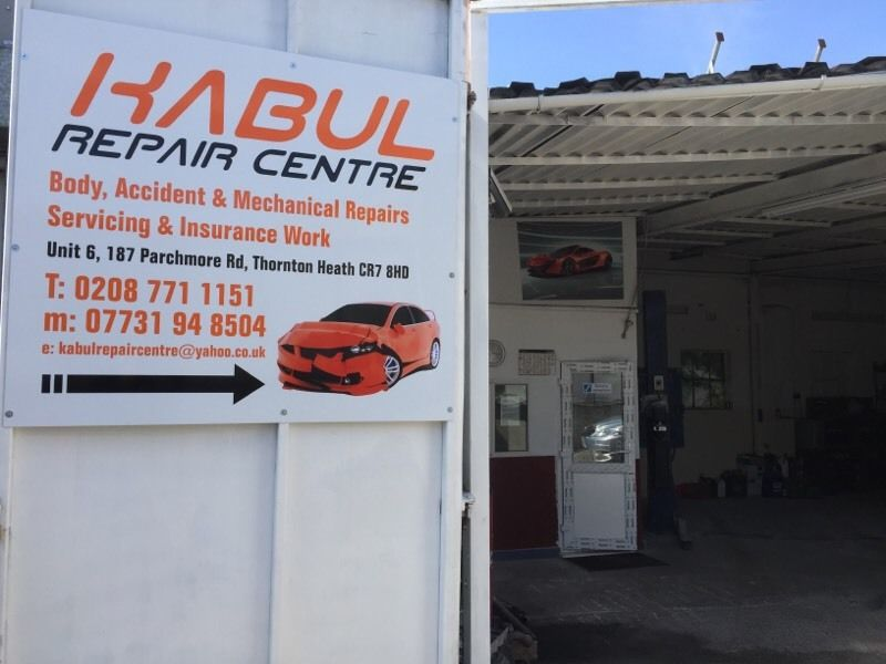 Car & Van Spray Body Repair and mechanical repair