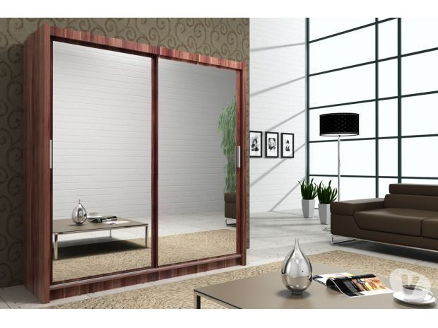 BRAND NEW Special Offer Berlin Full Mirror Sliding Wardrobe For Sale