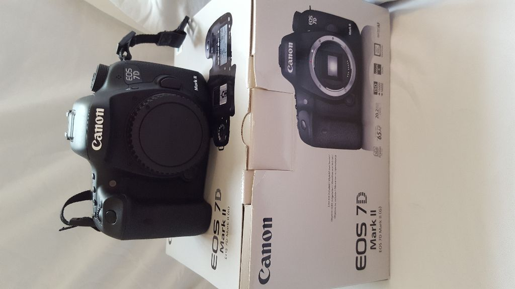 Canon 7D MKII, 9 mths old in mint condition.