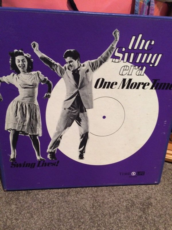 Vinyl x3 The Swing Era One More Time. 3 vinyls and book included!