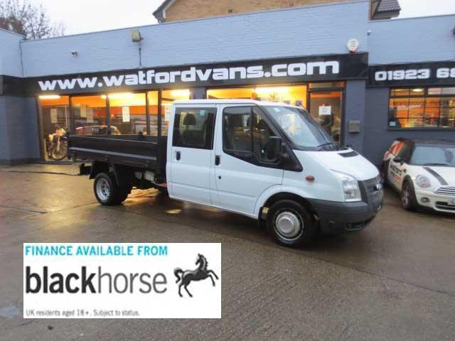 Ford Transit T350 2.2TDCi 100ps Double Cab Tipper +Elec.Windows DIESEL 2013/13