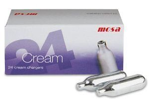 Cream chargers chefs catering supplies 12.50 a box