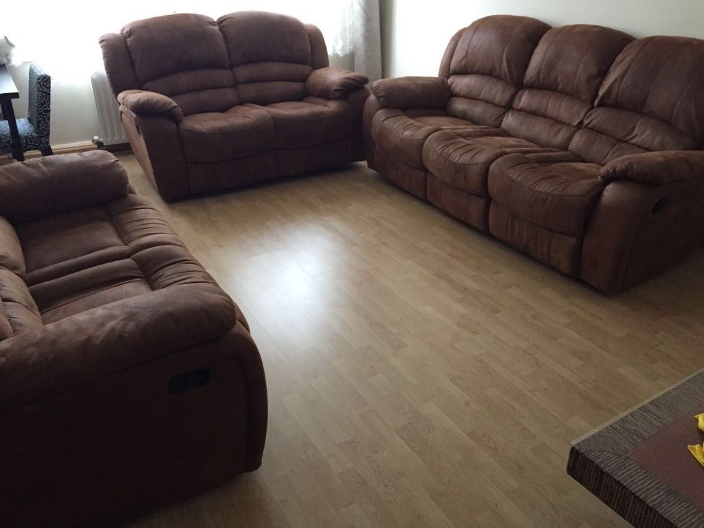 3 + 3 + 4 sofa set brand new