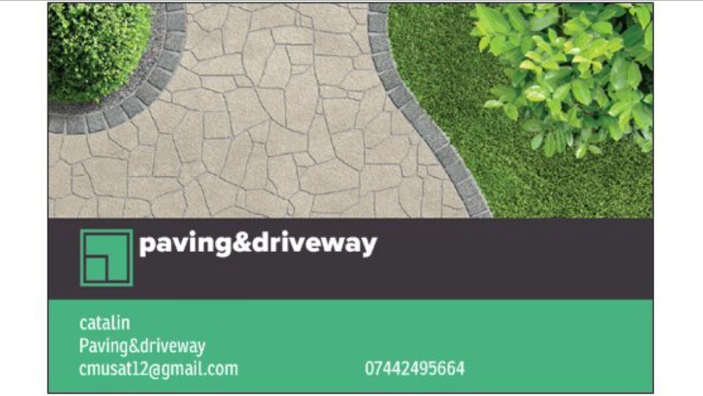 Paving/gardens/fences