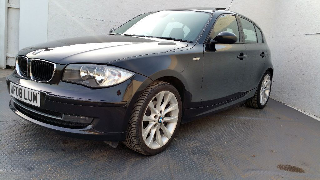 "2008 | BMW 118d SE | 5 Doors | Leather | Sunroof | USB | AUX | 17"" Wheels 