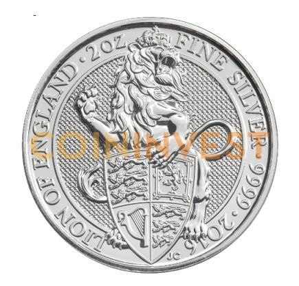 Buy Silver Coins without VAT with CoinInvest | Britannia | Maple Leaf | Queen's Beasts